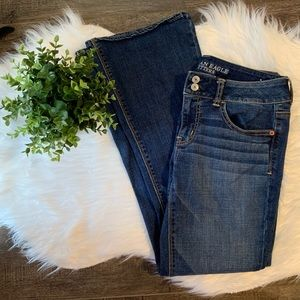 American Eagle short super stretch jeans